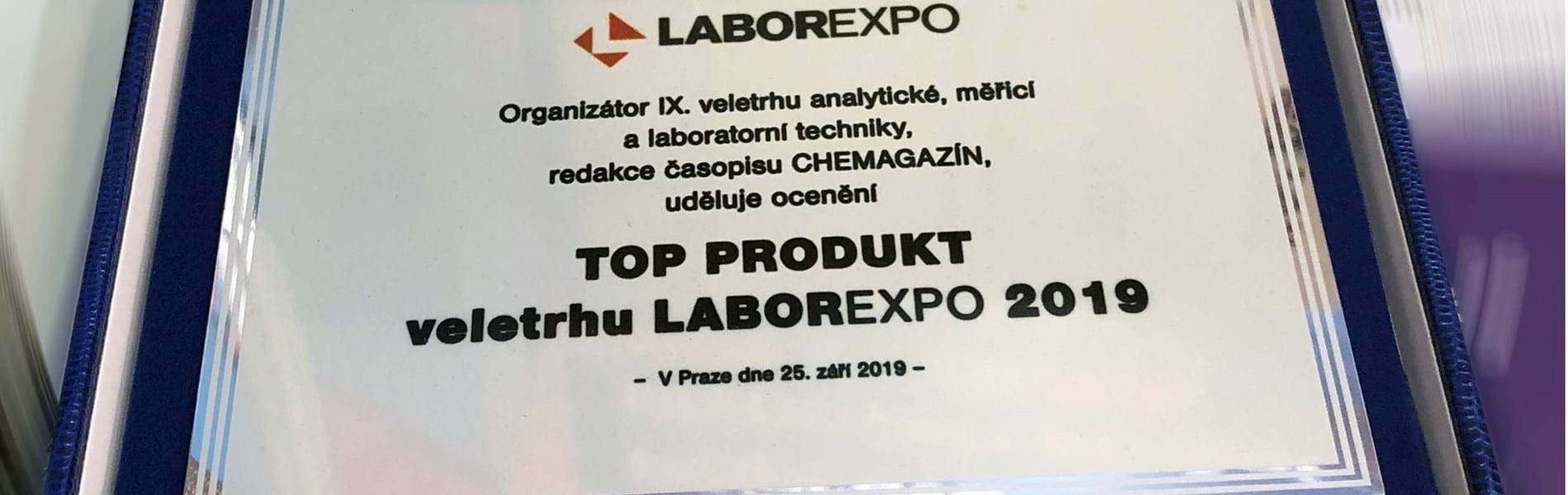 Centri crowned 'Top Product' at Laborexpo 2019